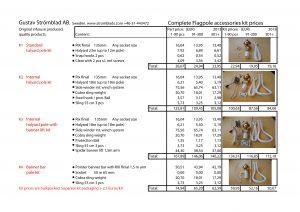 Flagpole kit price list