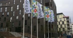 Flaggsänger uthyrning / Stockholm 2012