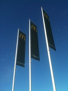 Banner bar Mc Donalds