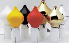 Rix-Flaggstångskula finns att få i flera färger