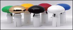 Rix-Pilz finns i flera olika färger