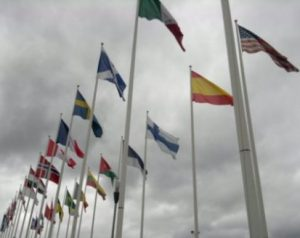 Flaggning evenemang Heden Göteborg