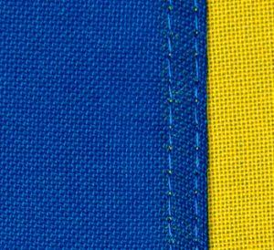 Vindtålig Polyester i våra flaggor